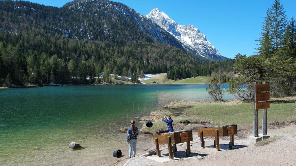 Het prachtige Alpenwelt Karwendel in het zuiden van Duitsland.