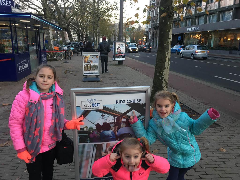 Amsterdam Light Festival met de Water Colors Kids cruise