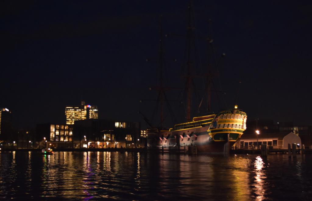 Het VOC schip