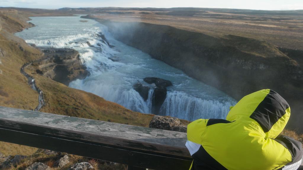 Gullfoss is een van de mooiste watervallen in IJsland.