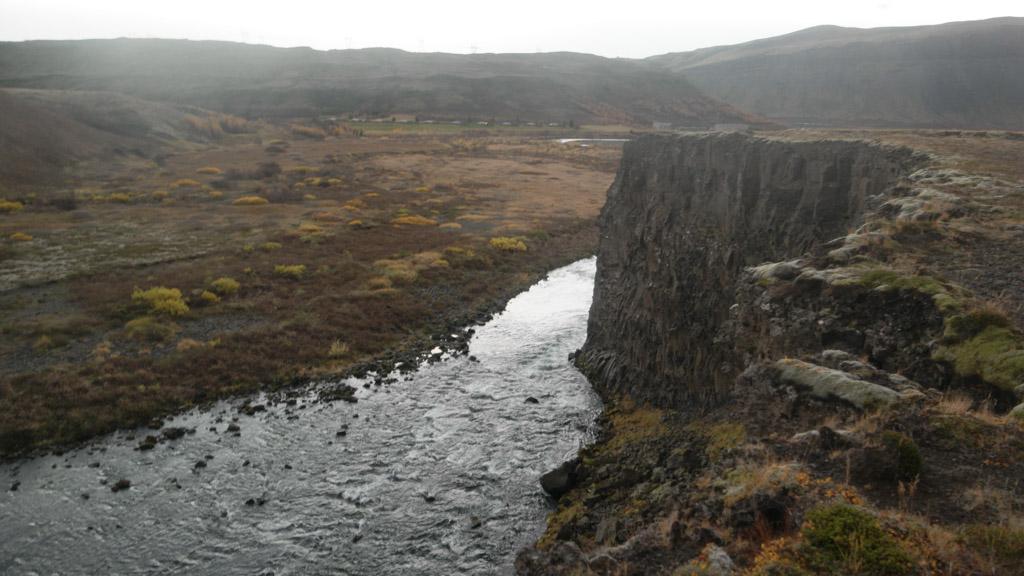 Bijzondere basalt rotsen.