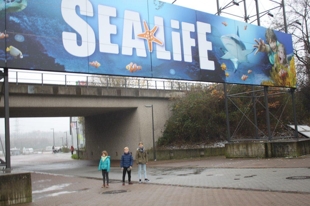 Sealife is letterlijk om de hoek van Legoland in Oberhausen.