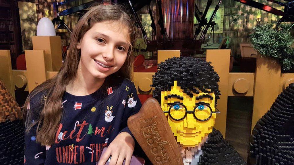 Onze Harry Potter fan is blij.