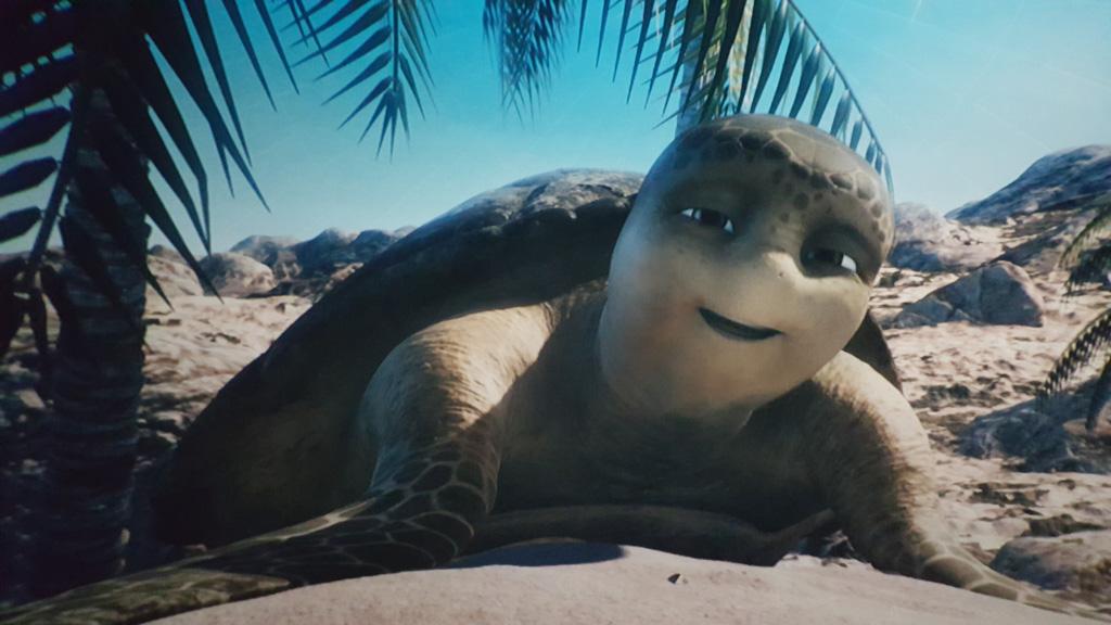 De 50-jarige schildpad Sammy vertelt het verhaal over zijn avonturen.
