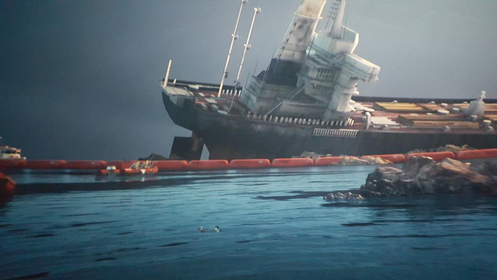 De invloed van mensen op de oceaan vormt een grote rol in de film.
