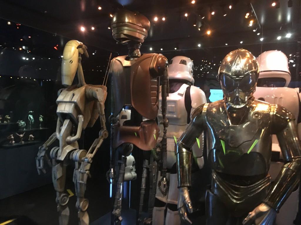 Levensgrote karakters uit de verschillende StarWars films