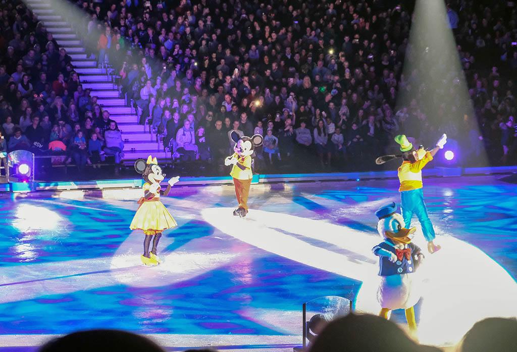 Yes! Ook Mickey, Minnie, Donald en Goofy zijn aanwezig.