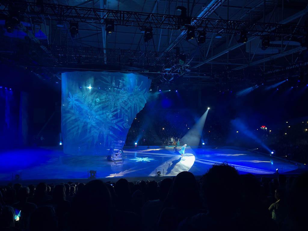 Wat een mooie sfeer en belichting en tijdens Frozen!