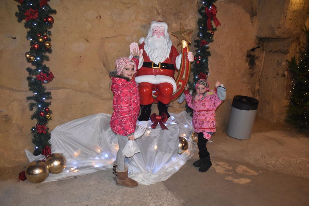 Een foto mer de kerstman hoort erbij!