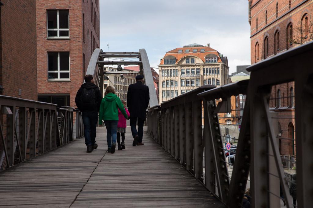 Op stadstour door Hamburg