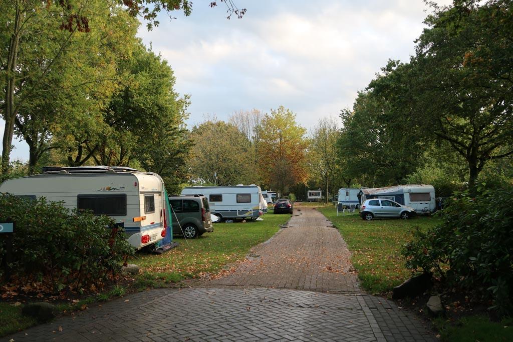 Op het Droompark Bad Hoophuizen kun je ook kamperen.