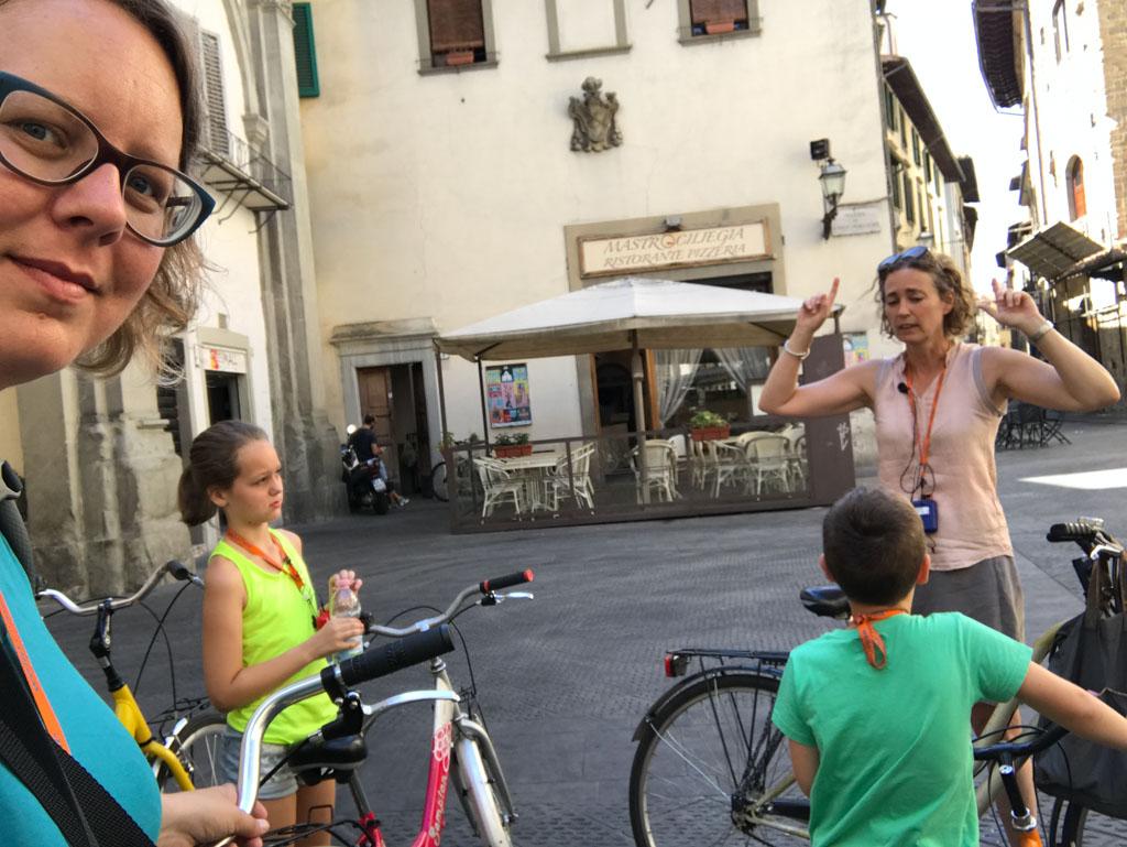 Met kinderen vanaf circa 8 jaar is de fietsexcursie goed te doen.