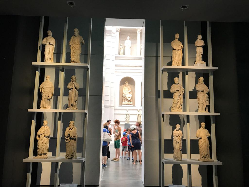 Het museum combineert moderne architectuur met oude kunst op een bijzonder fraaie manier.