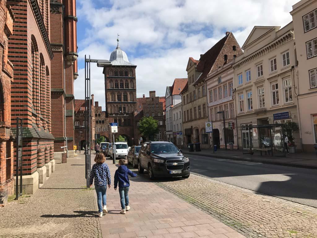 De binnenstad van Lübeck