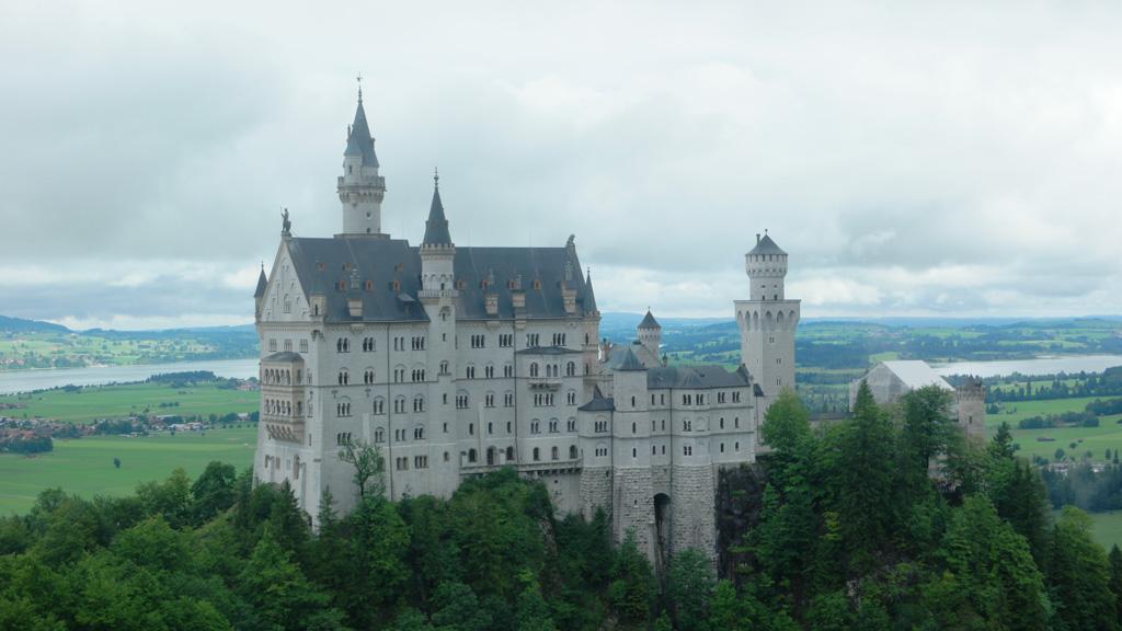 Jaaa, zicht op Neuschwanstein!!!