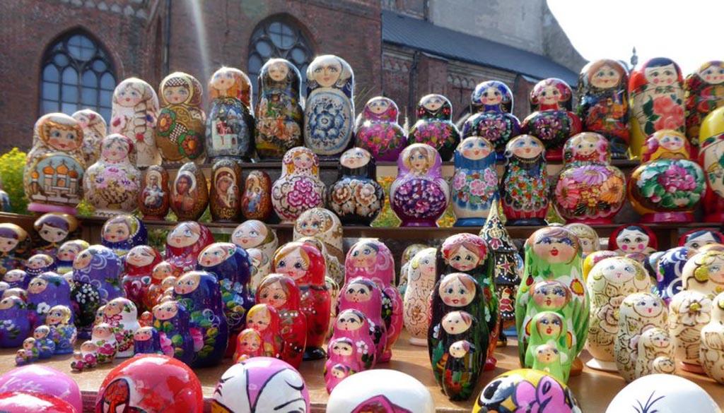 In Riga vind je veel, heel veel babboesjka's