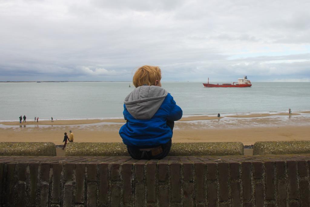 Wegdromen aan zee in Vlissingen