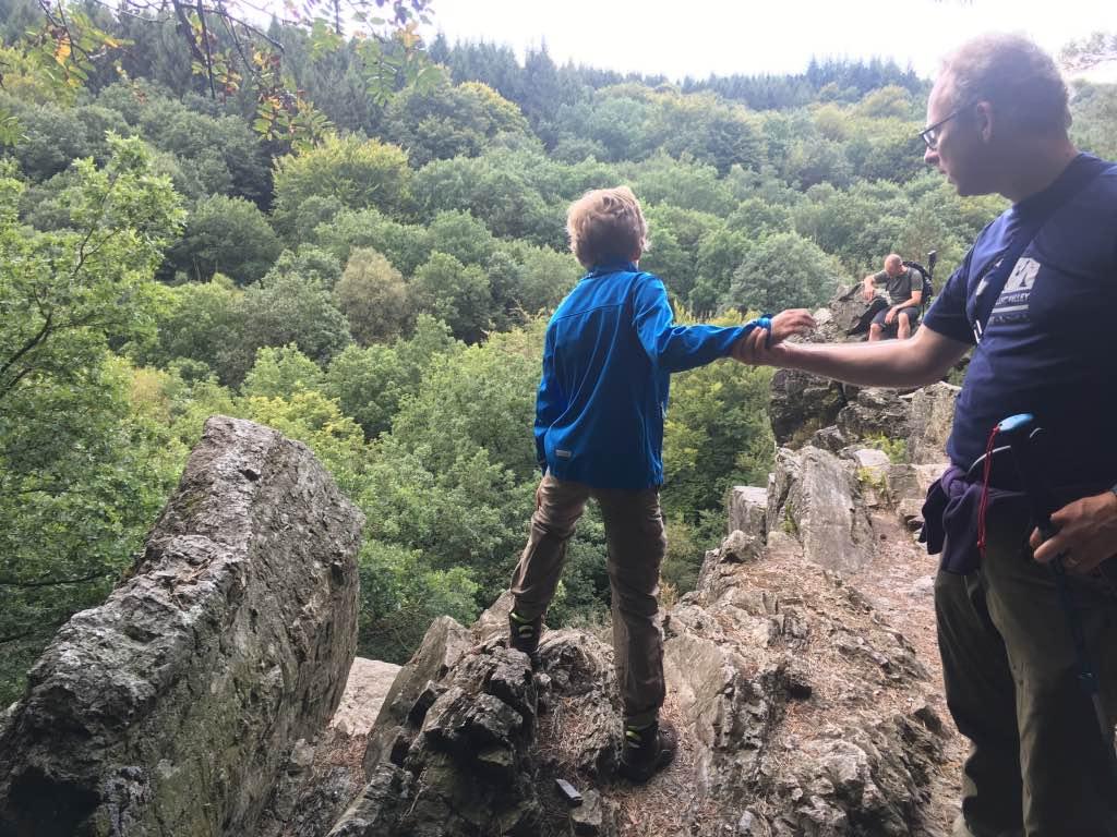 Rocher de Bilisse Statte Ardennen