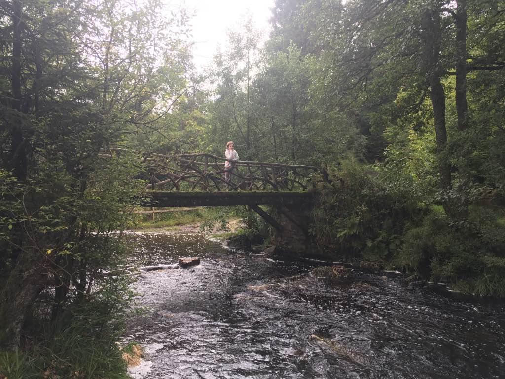 Het mooie bruggetje 'Pont de la Vecquue'
