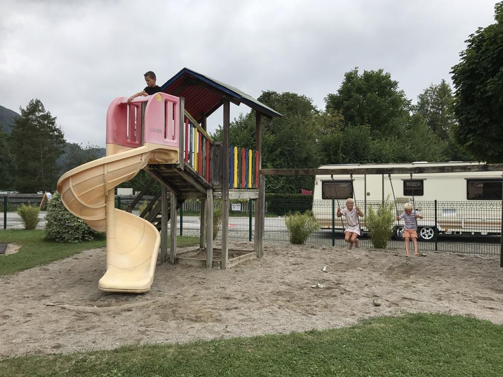Camping birkenstrand speeltuin