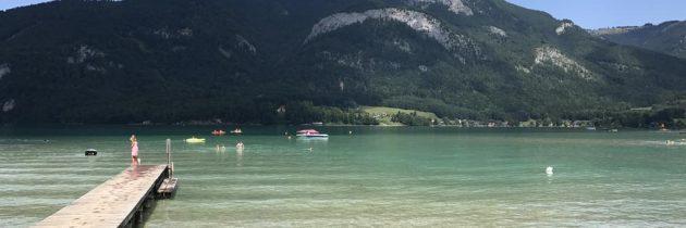Camping Birkenstrand aan de Wolfgangsee: dat is genieten van het Salzburgerland