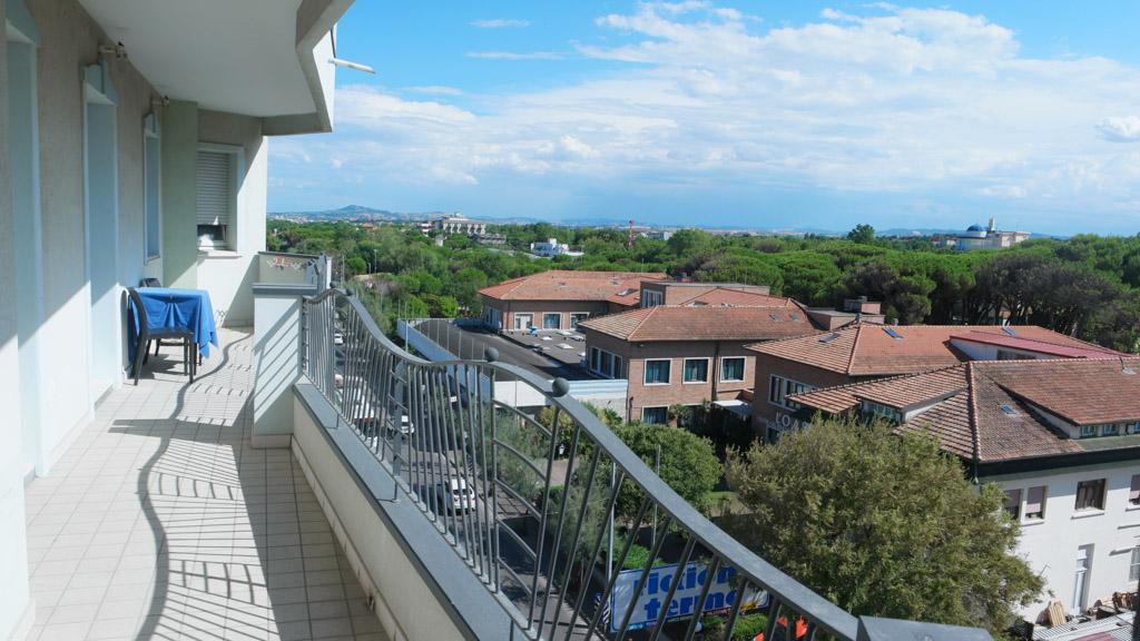 Het balkon.