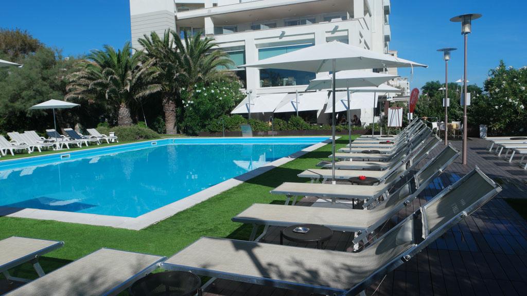 Hotel Sarti in Riccione.