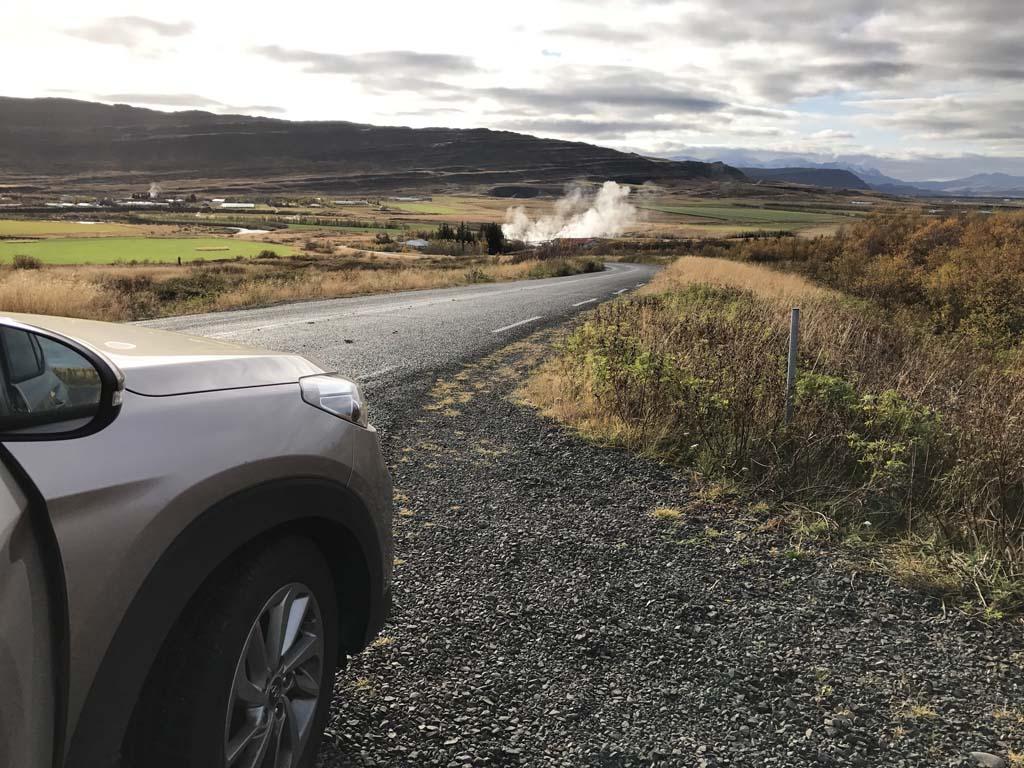 Een 4x4 is in het zuiden van IJsland niet nodig.