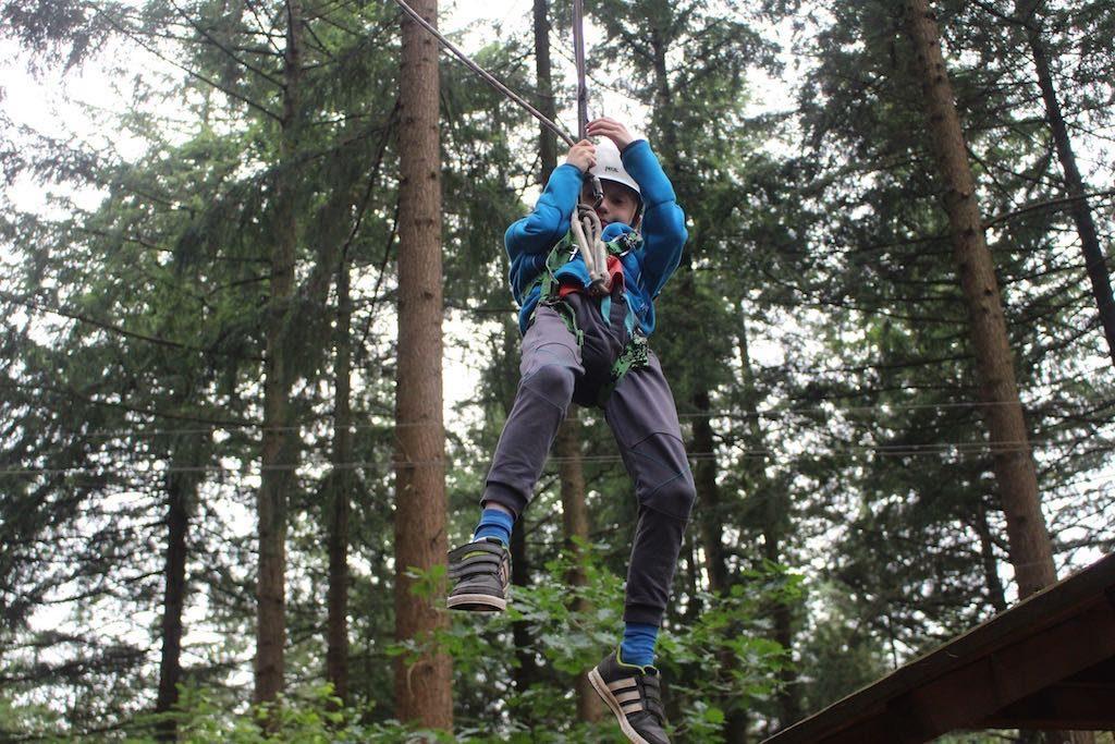 Hangen en gaan!
