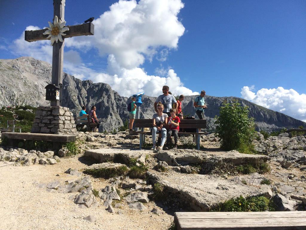 Op de top van de Obersalzberg.