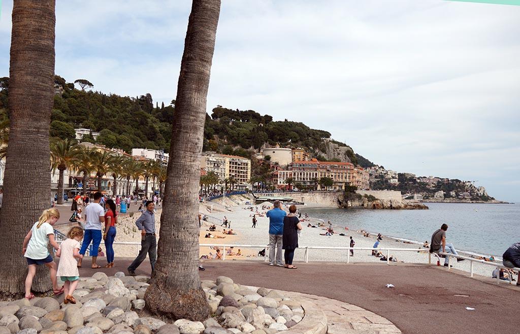 Op naar de burcht van Nice