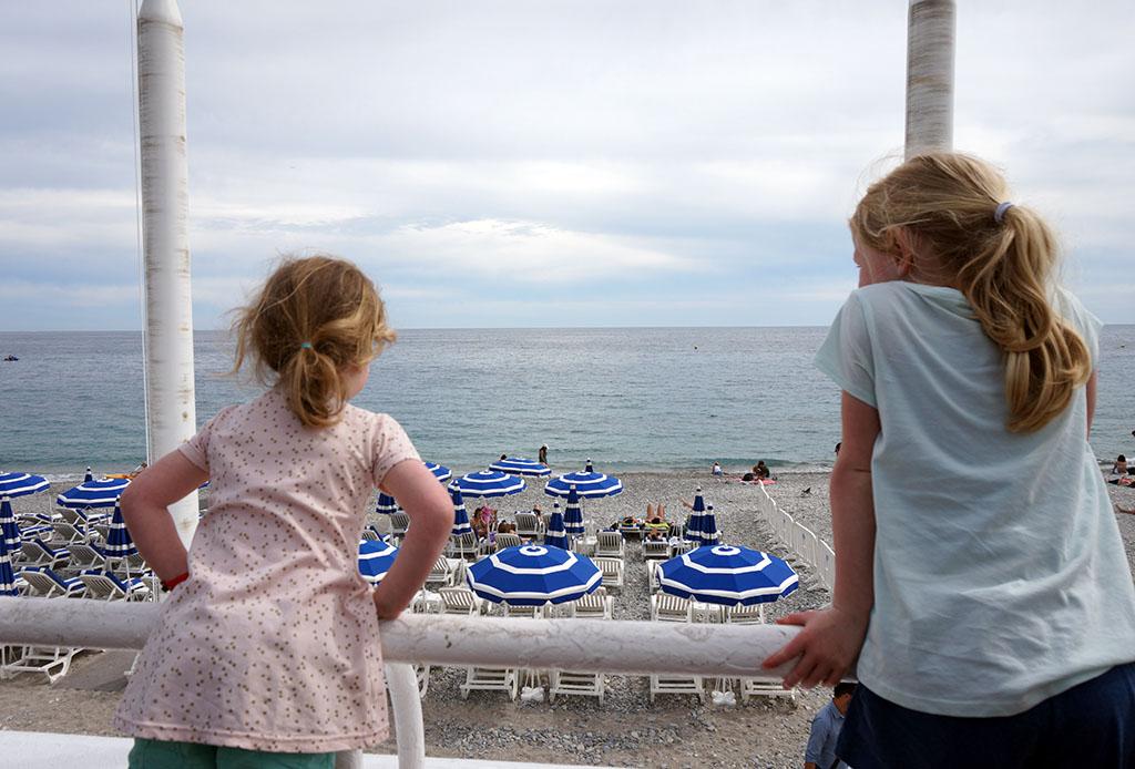 Op de Promenade des Anglais