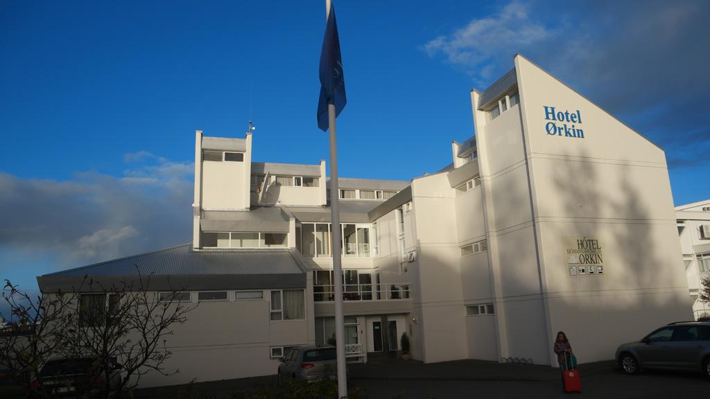 Hotel Orkin in Reykjavik.