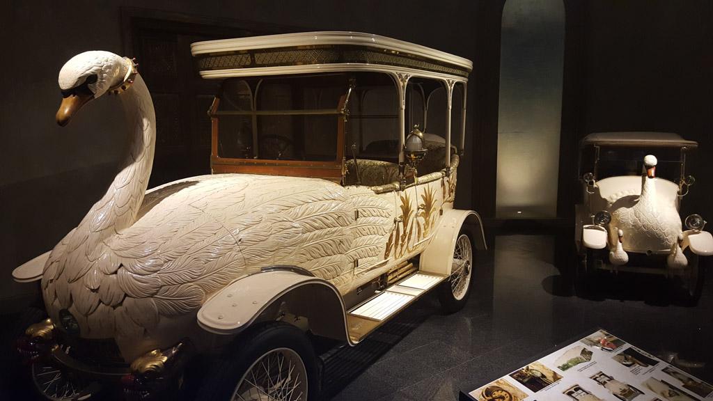 De Swan-car, de meest vreemde auto's uit de hele collectie.
