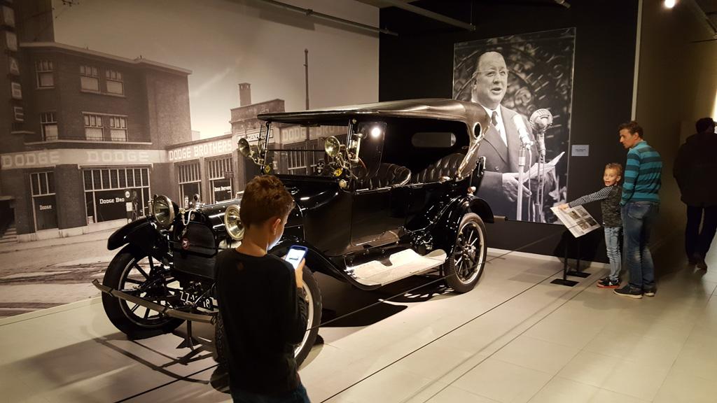 De auto waarmee alles begon voor Louwman.