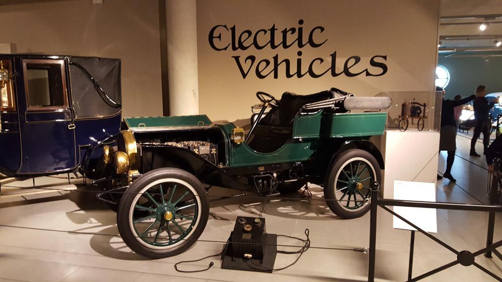 Vroeger was elektrisch rijden al mogelijk.