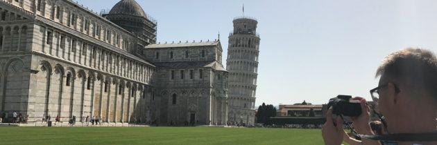 Toren van Pisa bezoeken? Ja hoor, maar dan beklimmen we de scheve toren ook!