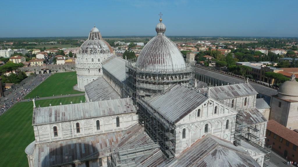 De Duomo van bovenaf gezien.