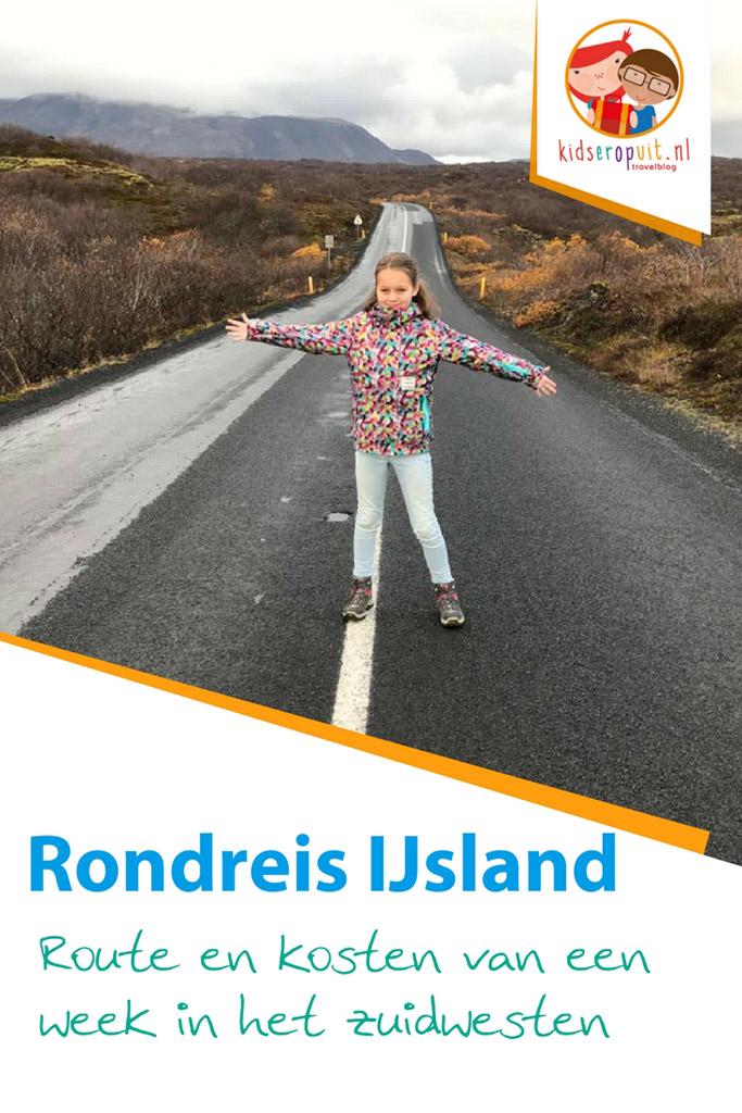 Route en kosten van een rondreis IJsland.