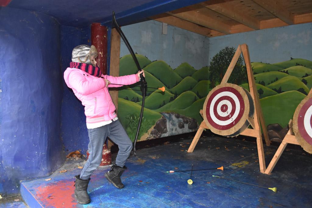 Boogschieten net als Robin Hood