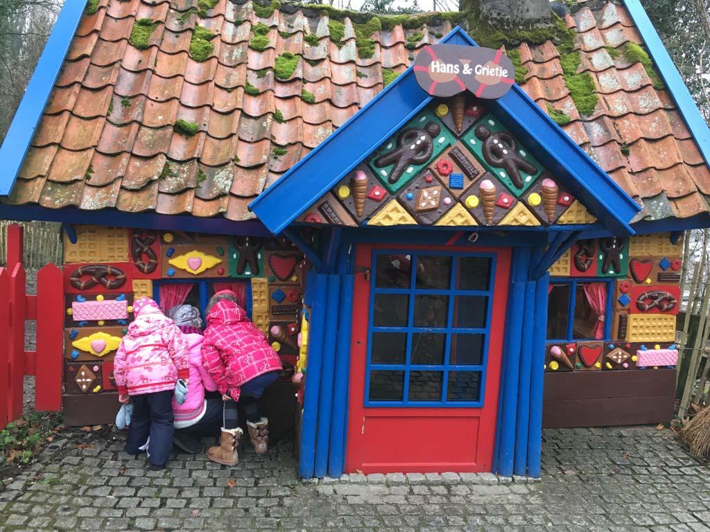 Het huisje van Hans en Grietje