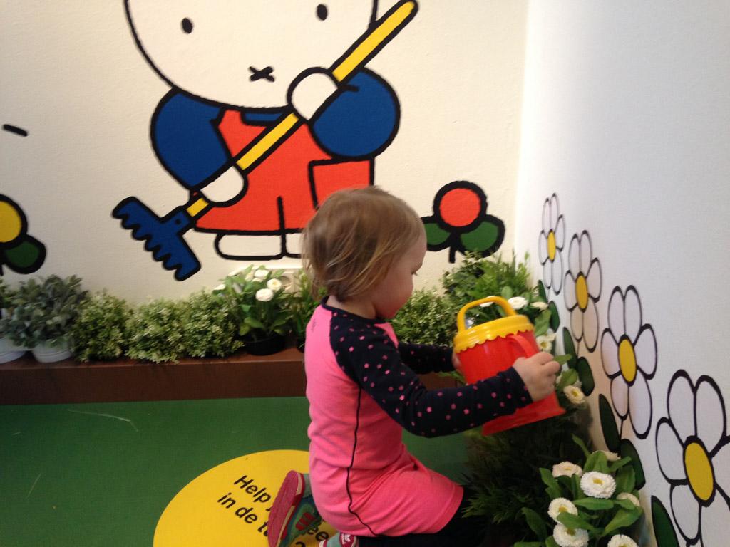 Bij het Nijntjemuseum is voor peuters veel te doen en te ontdekken. (Foto: Daphne)