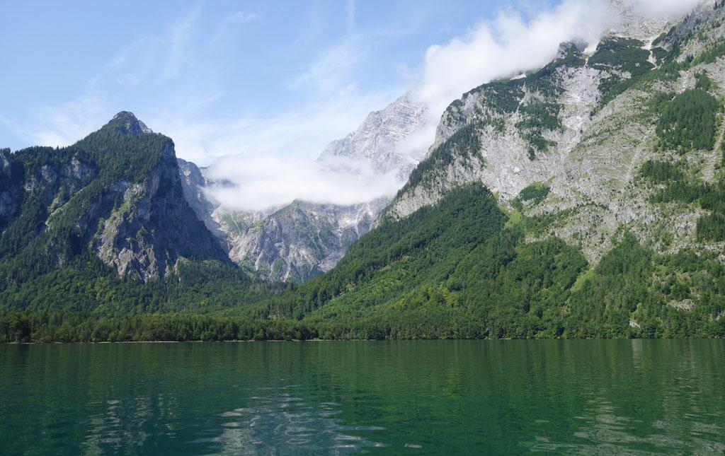 Wandelen bij de Konigssee fjord