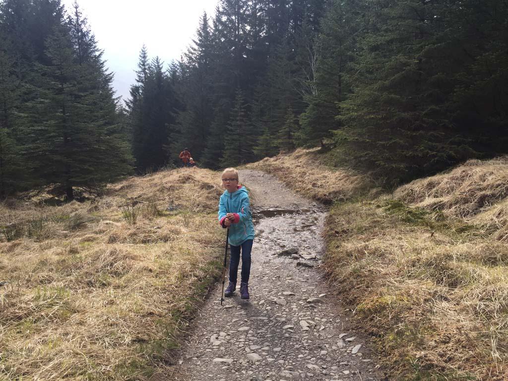 wandelen in Schotland met kinderen