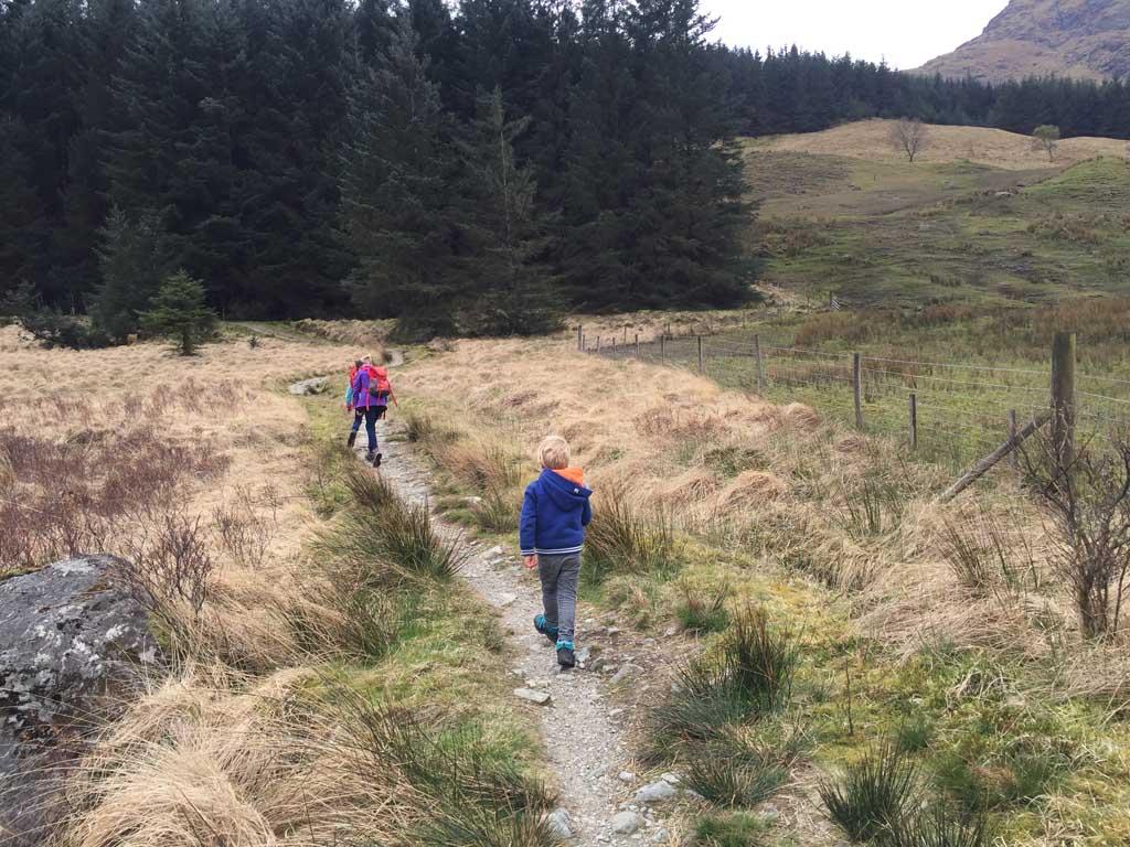wandelen in Schotland divers