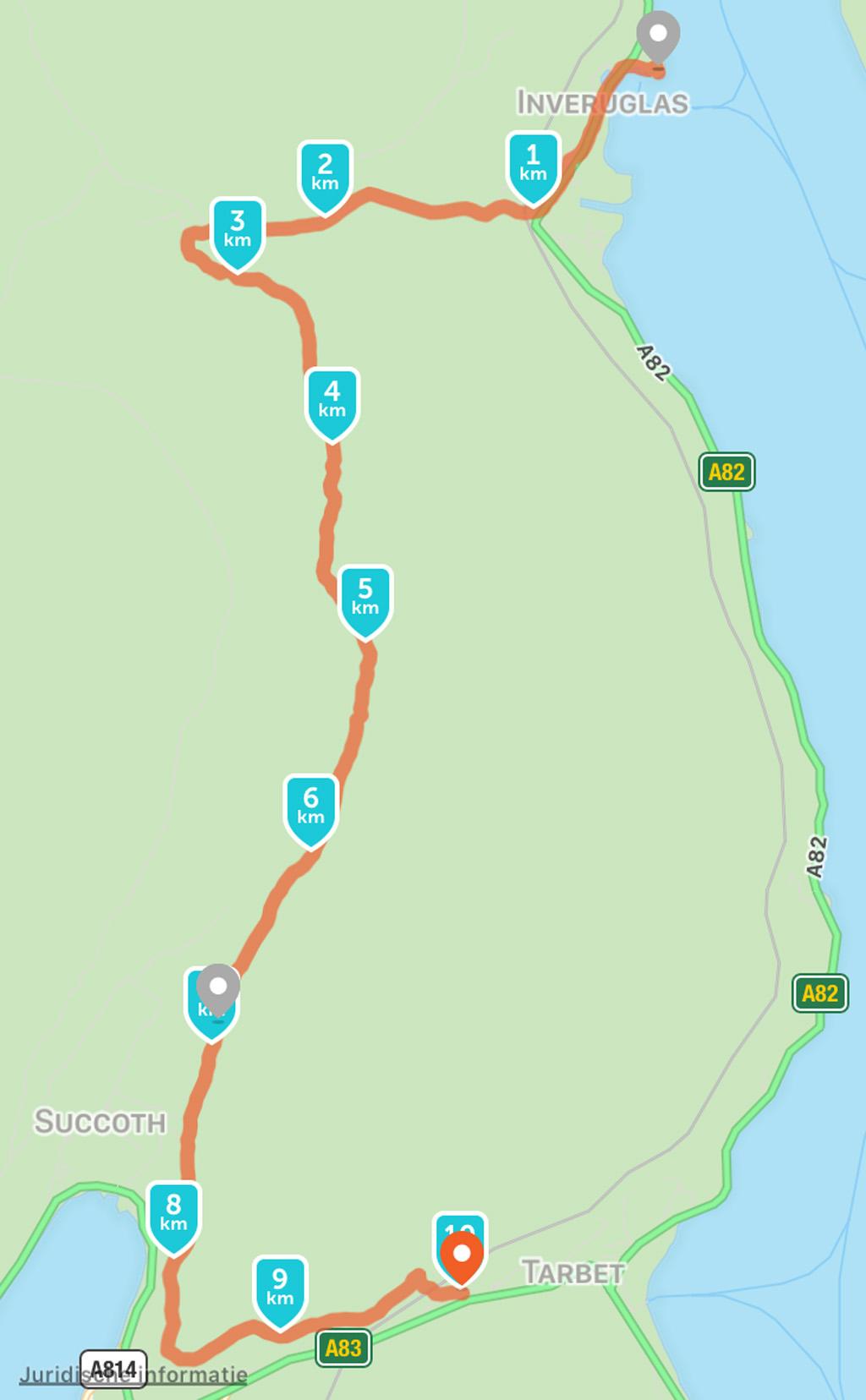 wandelen in Schotland met kinderen 10 km