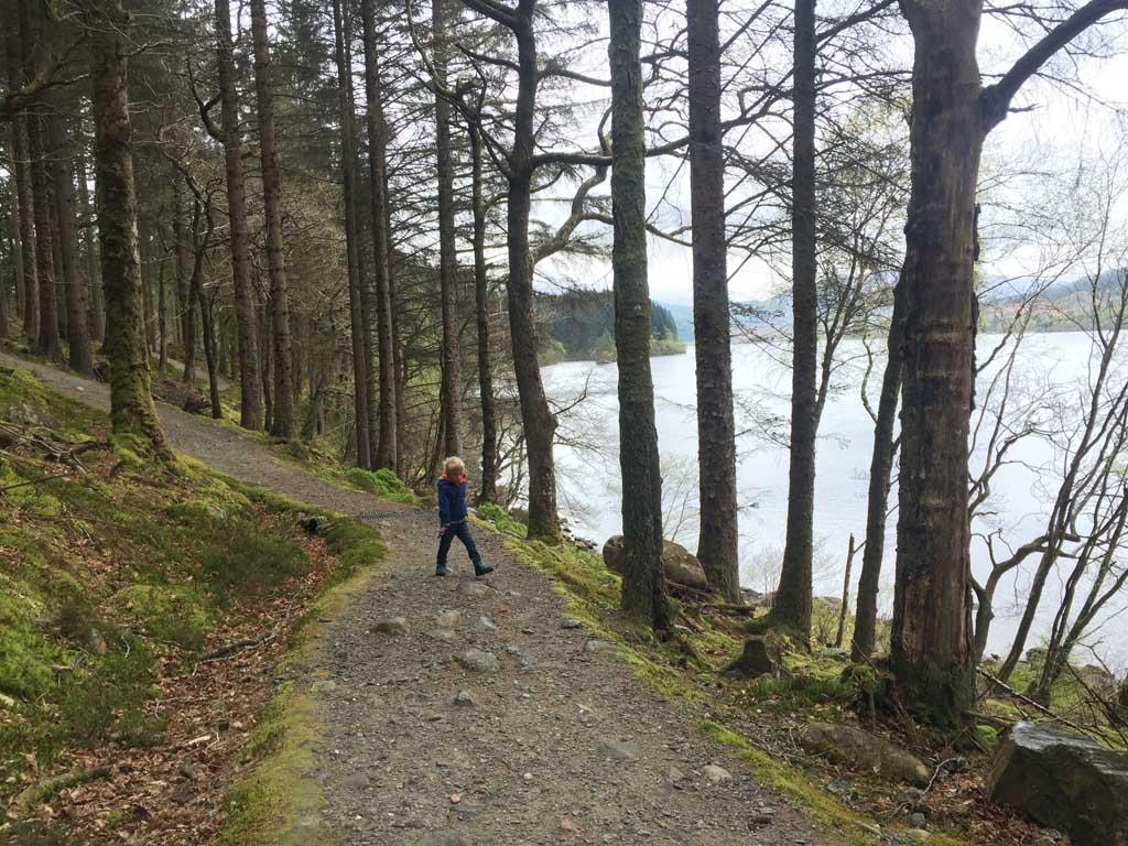 wandelen in Schotland met kinderen toch hard