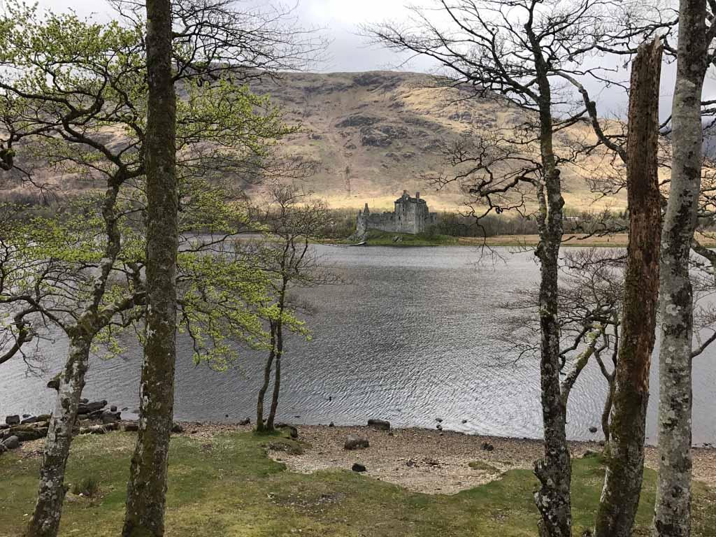 wandelen in Schotland met kinderen kasteel