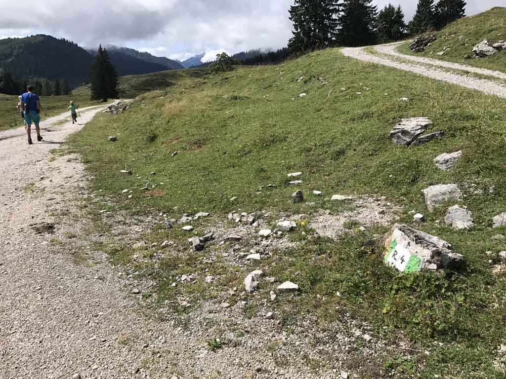 wandelen rondom de wolfgangsee groene route