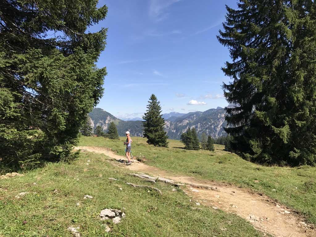 wandelen rondom de wolfgangsee